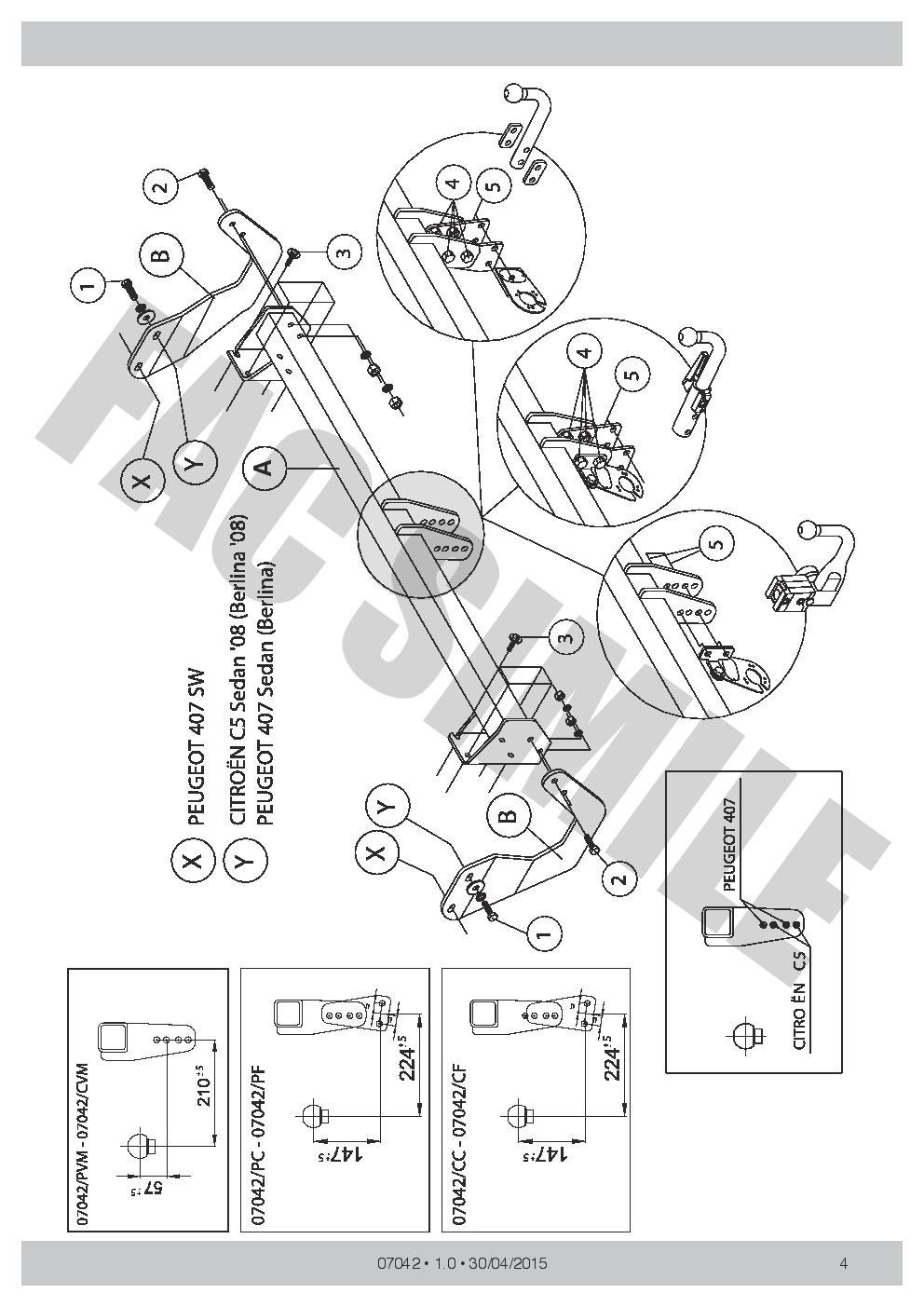 hight resolution of citroen c5 towbar wiring diagram