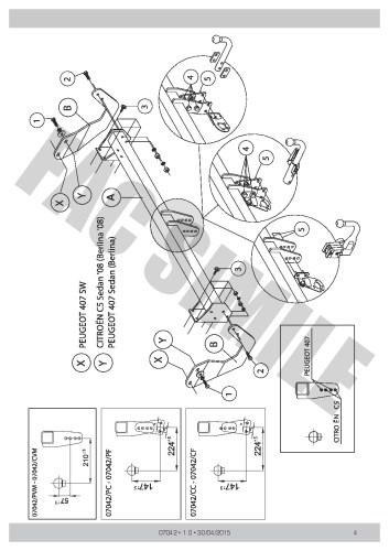 small resolution of citroen c5 towbar wiring diagram