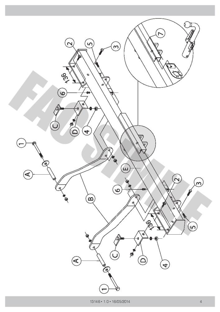 medium resolution of detachable towbar 7pin wiring for peugeot boxer van