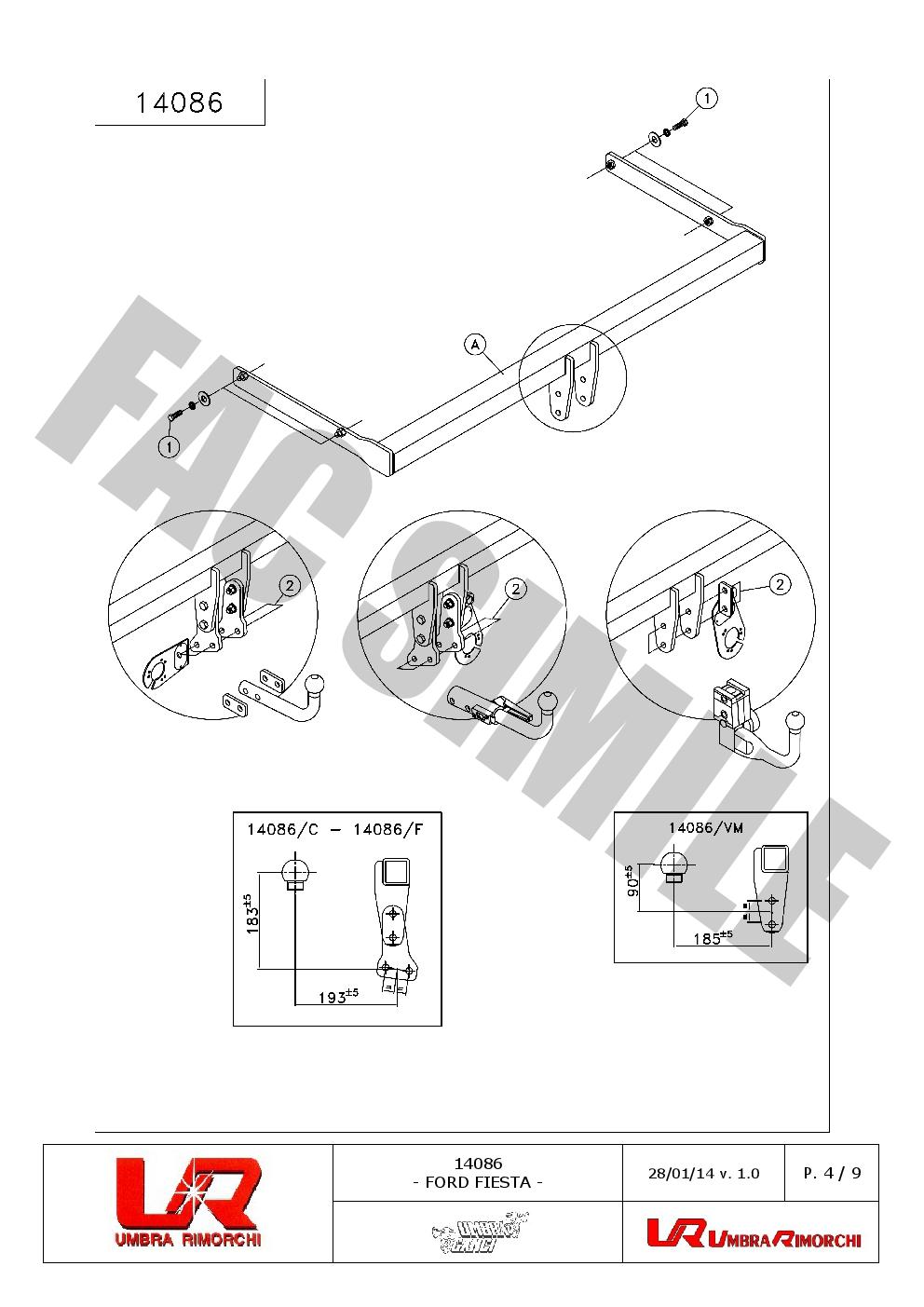 details about trailer caravan wiring lights tow bar 7 pin socket
