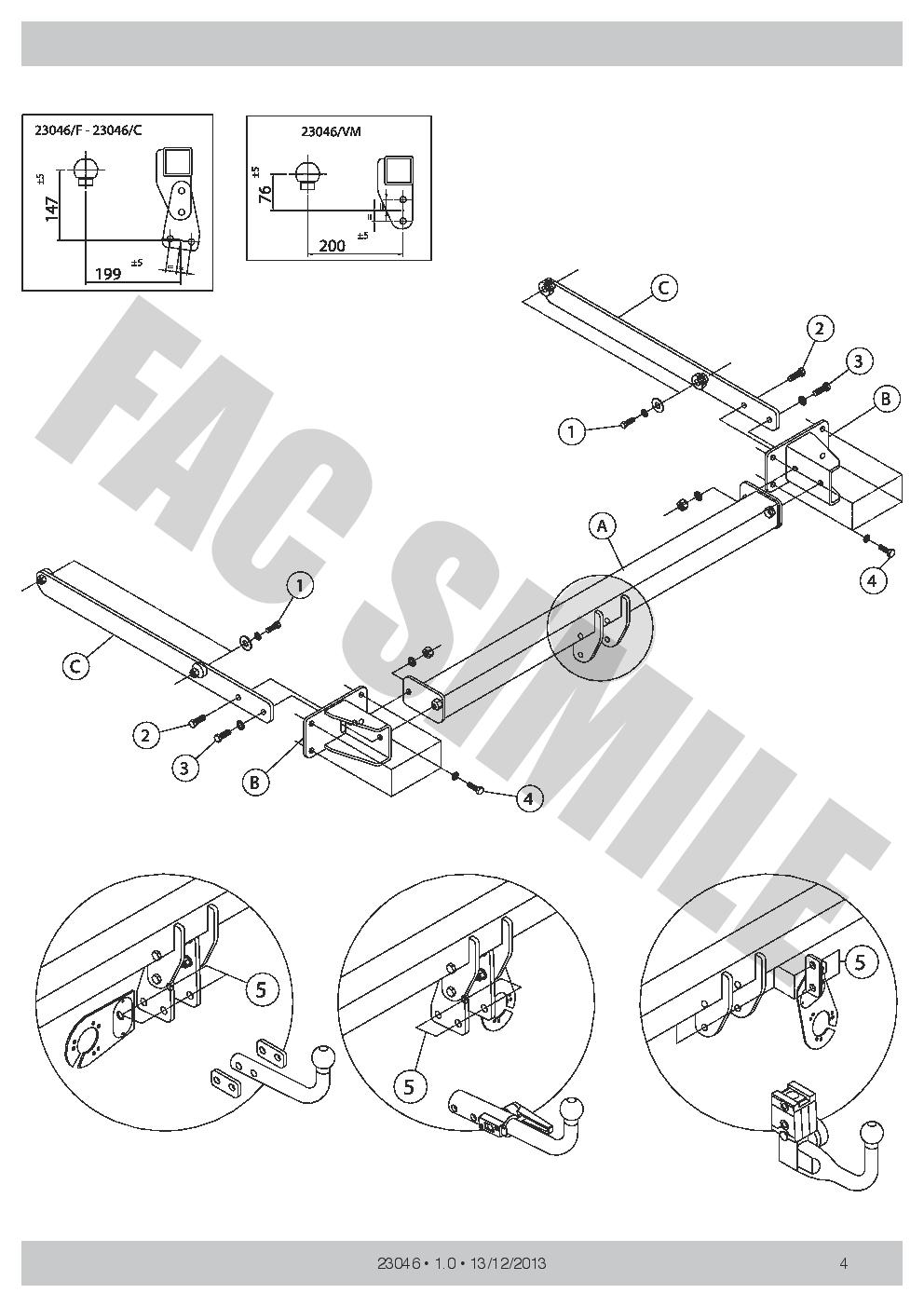medium resolution of vertical detachable towbar 7p wiring for mercedes c