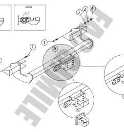 fixed flange towbar for mercedes vito van 13  [ 1403 x 992 Pixel ]