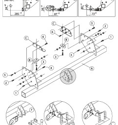 swan neck towbar 7p wiring for mitsubishi l200  [ 992 x 1403 Pixel ]