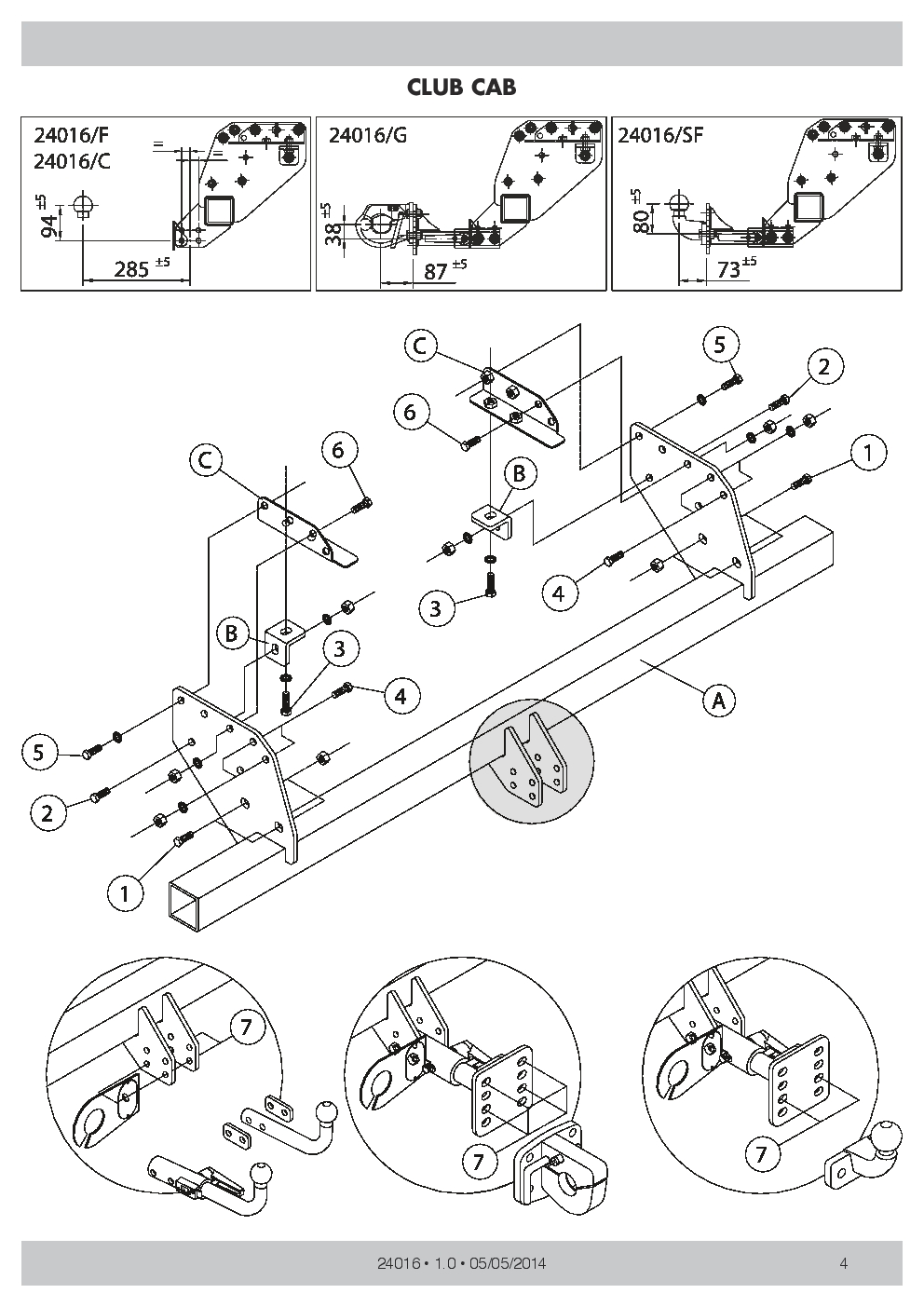 hight resolution of swan neck towbar 7p wiring for mitsubishi l200