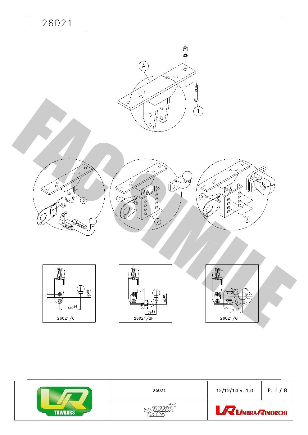 Bola Remolque Placa + Kit C2 7p para Nissan PATHFINDER 4WD