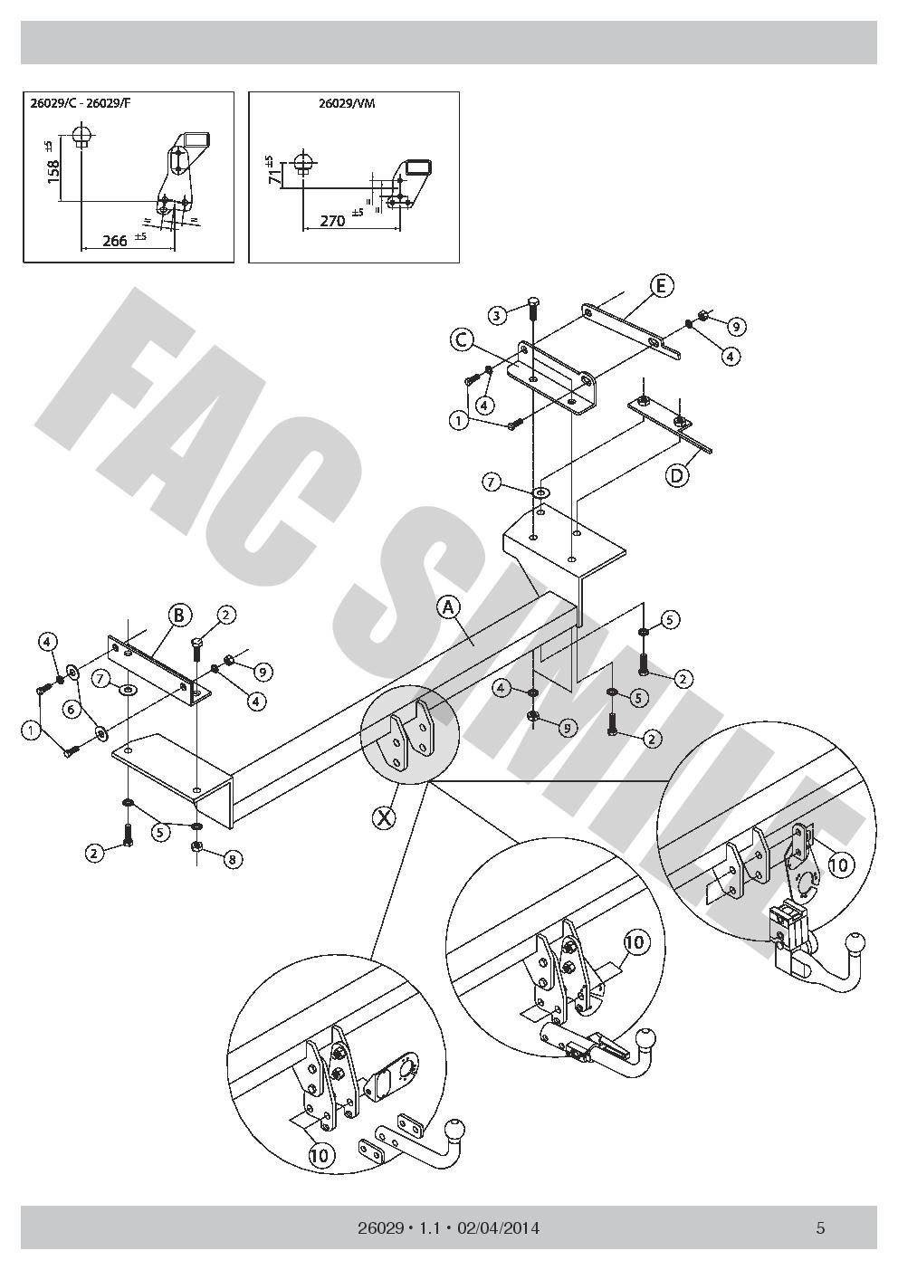 medium resolution of vertic detach towbar 7pin wiring for nissan qashqai
