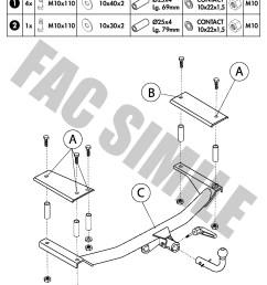 detach towbar 13p c2 wiring kit for opel  [ 992 x 1403 Pixel ]