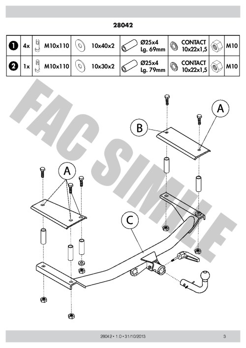 small resolution of detach towbar 13p c2 wiring kit for opel