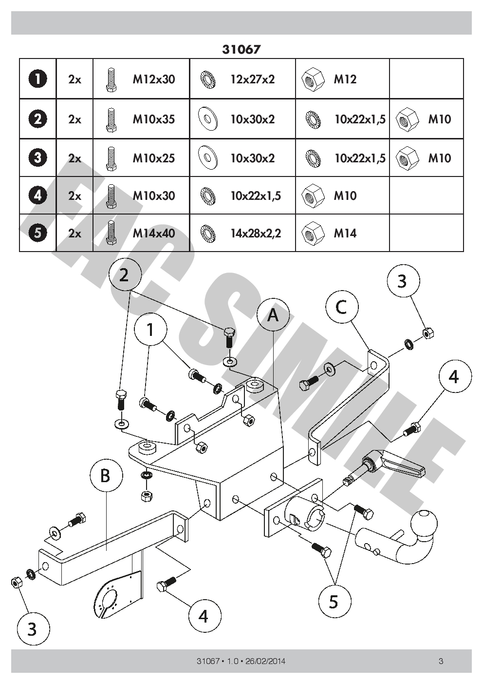 hight resolution of renault espace towbar wiring diagram wiring library detachable towbar 7pin wiring bypass relay tow bar