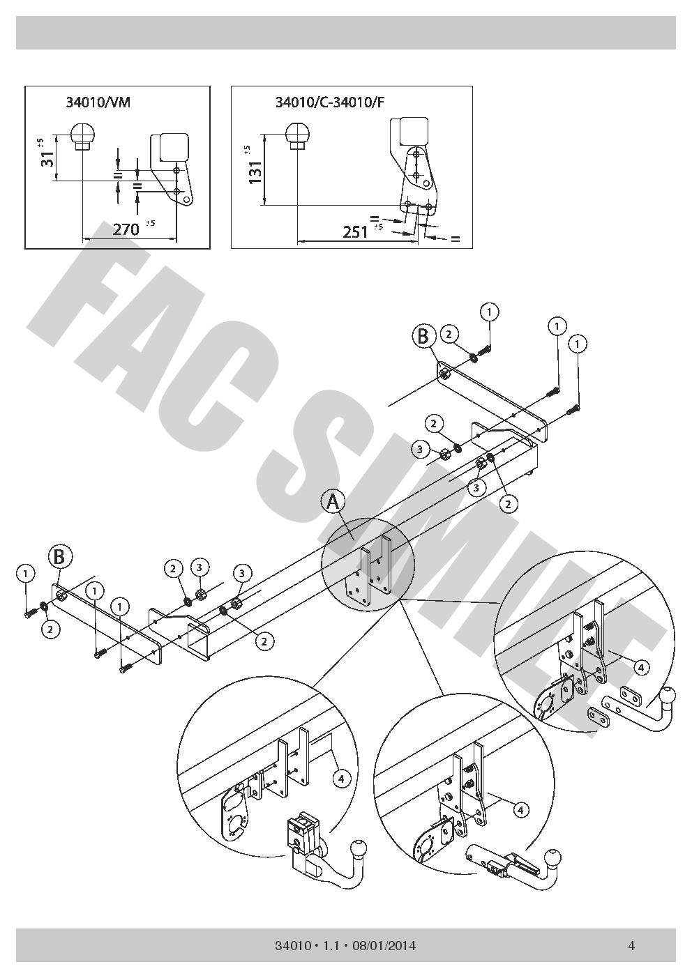 medium resolution of vertical detachable towbar 7p wiring for skoda octavia
