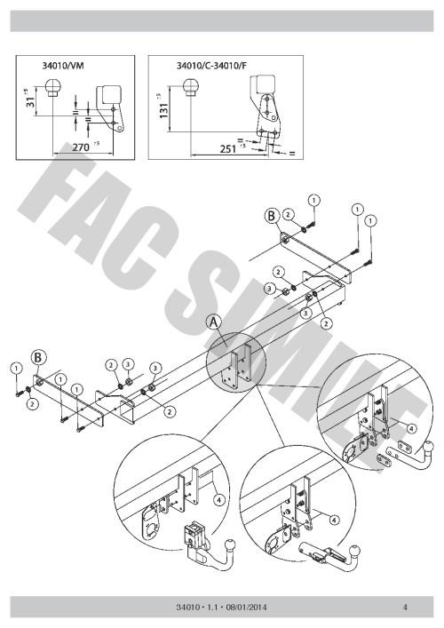 small resolution of vertical detachable towbar 7p wiring for skoda octavia