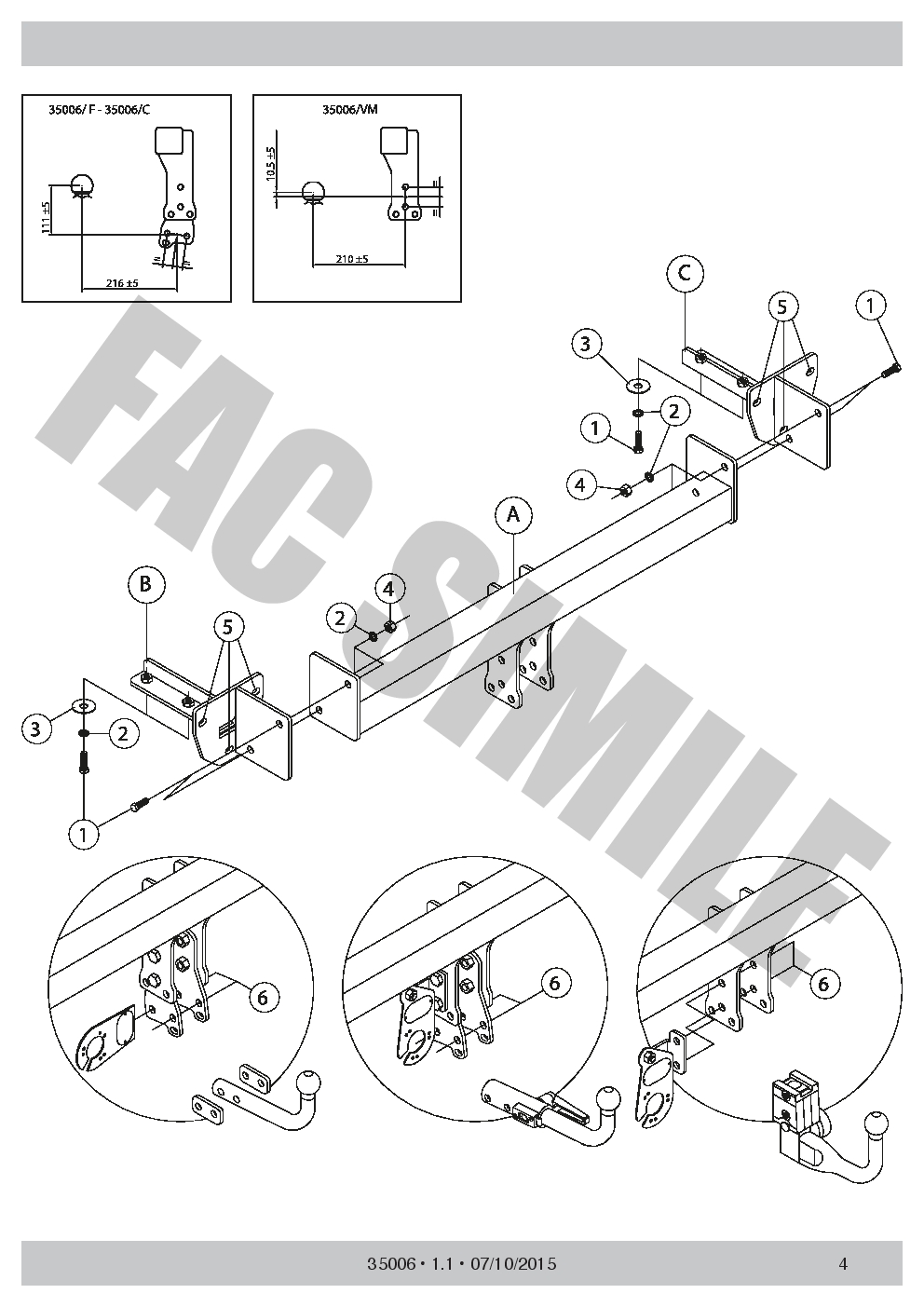 hight resolution of swan neck towbar 13pin c2 wiring for subaru