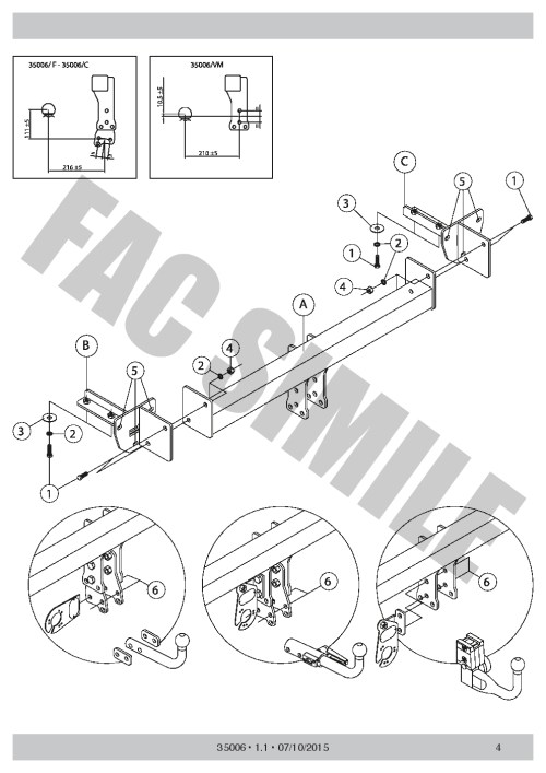 small resolution of swan neck towbar 13pin c2 wiring for subaru
