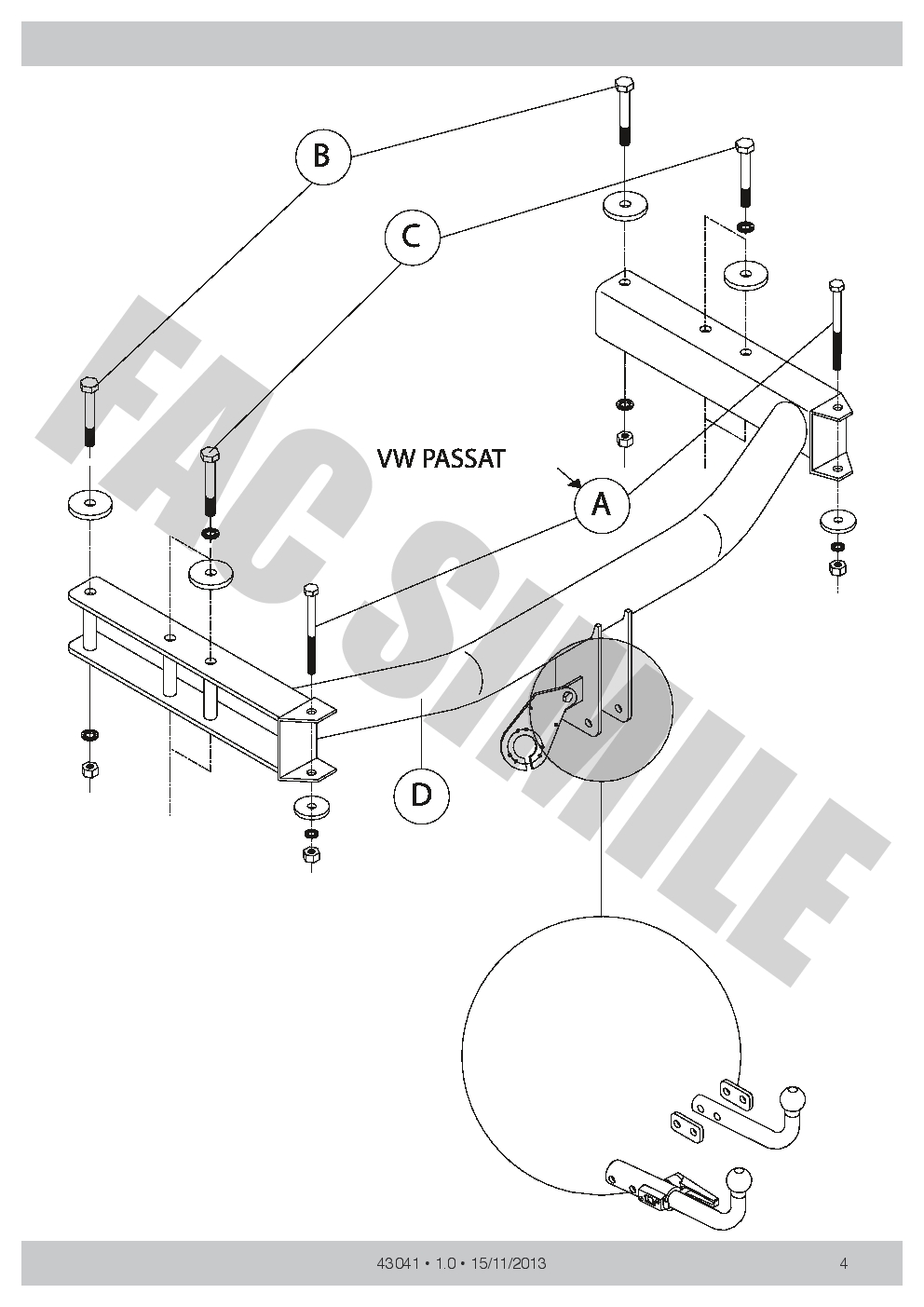 hight resolution of detachable towbar 13p c2 wiring for skoda superb