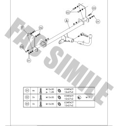 detachable towbar 13pin c2 wiring kit for hyundai  [ 992 x 1403 Pixel ]