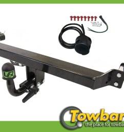 image is loading detachable towball towbar 7pin wiring for nissan qashqai  [ 1400 x 900 Pixel ]