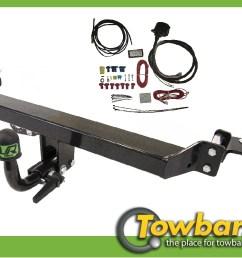 image is loading detach towbar 13pin c2 wiring kit fits [ 1402 x 902 Pixel ]