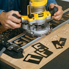 Router Templates Router Sign Pro Signmaking Template Kit