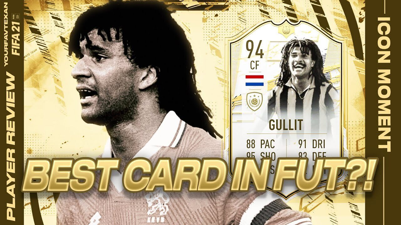 He provides very good strong french links, but icons like cantona are indisputably more meta, if the meta is important to you. 25 Teams Prime Moments Ruud Gullit Is The Most Earlygame