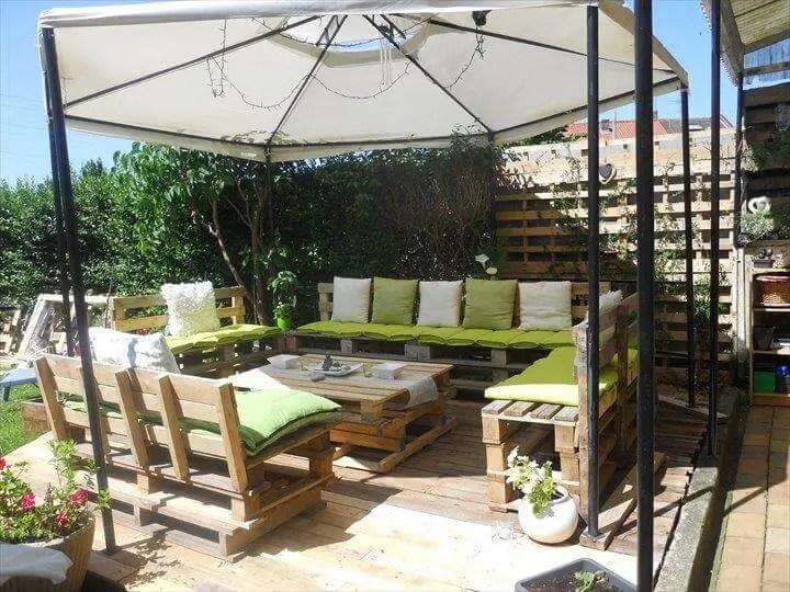 diy pallet patio furniture pallet