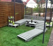 Diy Pallet Garden And Patio Furniture Set - Easy Ideas