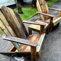 Outdoor Pallet Bar & Patio Furniture - Easy Ideas