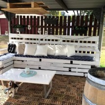 Diy Pallet Patio Furniture And Decoration - Easy Ideas