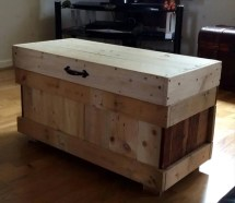 Pallet Outdoor Furniture Set And Custom Chest - Easy