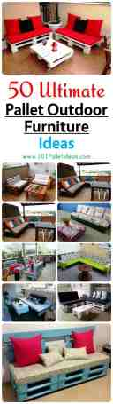 50 Ultimate Pallet Outdoor Furniture Ideas Easy Pallet Ideas