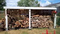 Pallet Firewood Shed - Easy Pallet Ideas