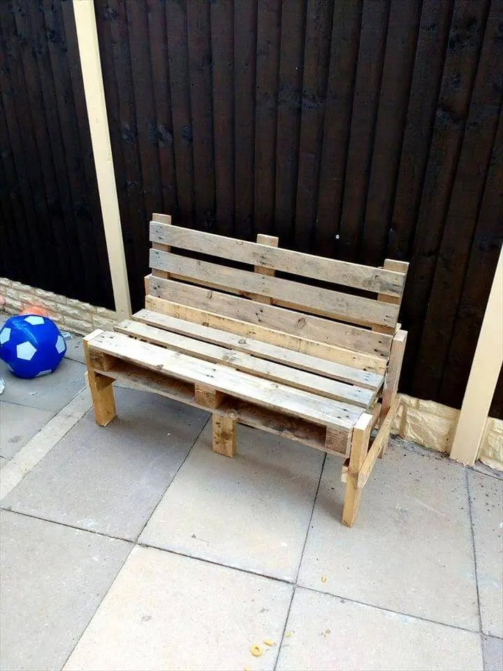 Pallet Benches by Shane  Easy Pallet Ideas