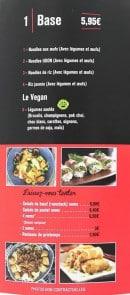so wok a albi carte menu et photos