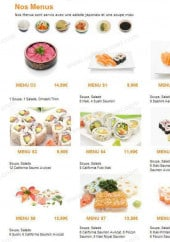 sushi sushi a epinay sur seine carte
