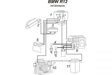 Schaltplan Bmw R1007