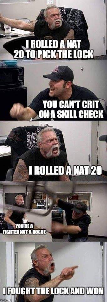 Rogue Dnd Memes : rogue, memes, Massive, Dungeons, Dragons, Images), Funny, Gallery