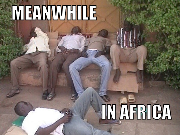 Meanwhile in Africa  Picture  eBaums World