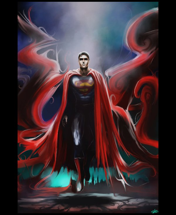 Awesome Superman Comic Art