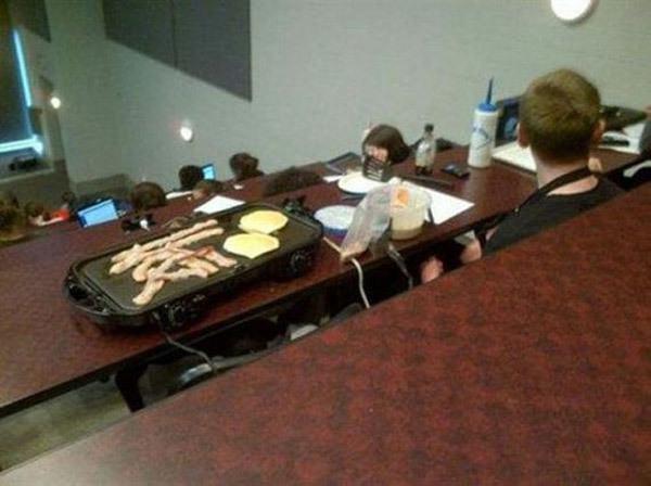 8am class
