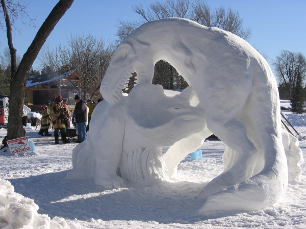 Snow Sculptures - Ebaum' World