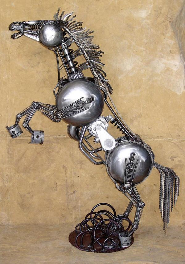 Amazing Scrap Metal Art - Ebaum' World