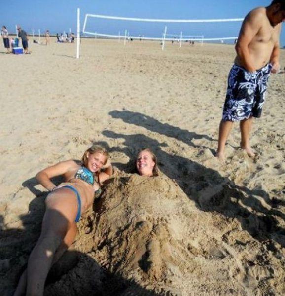 14 - 24 Beautiful Bikini Beach Shot FAILS!