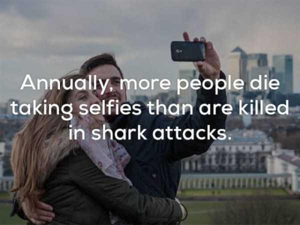 selfie death