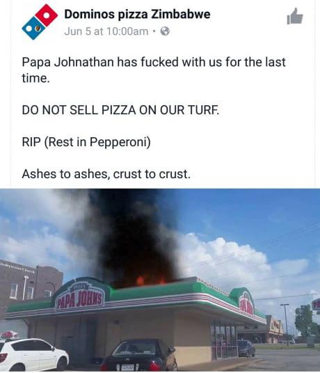 pizza war