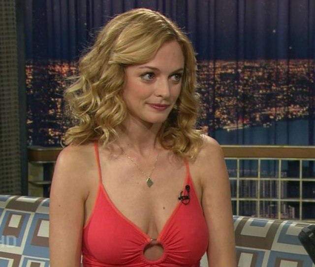 Heather Grahams Milf Titties On Conan