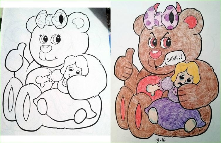 25 Childrens Coloring Books Not Safe For Kids Wtf
