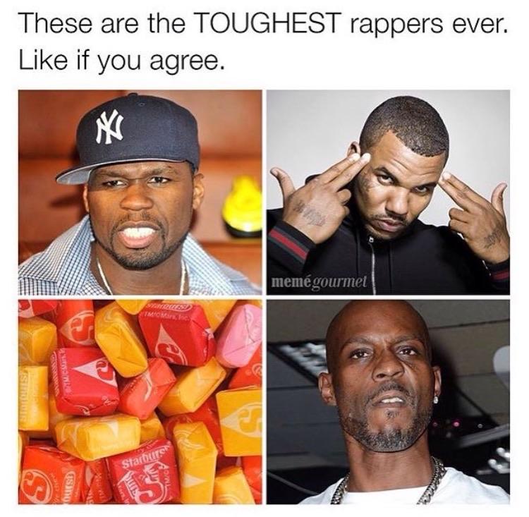 Tough rappers