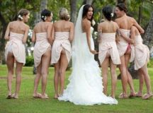 Bridesmaids showing off their butts ... - Picture | eBaum ...