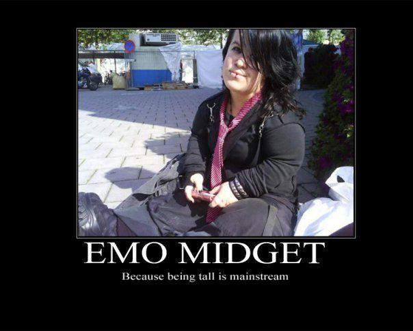 Emo Midget Picture EBaum's World