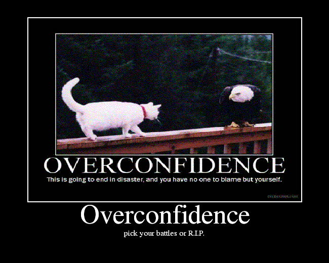 Overconfidence Picture EBaum's World