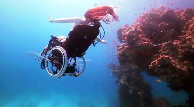 Wheelchair Scuba Diving  Video  eBaums World